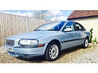 VOLVO S80, ONLY 73k Miles, 12 MTH MOT, 3 keys, 17 service stamps, only 1 owner, towbar, heated seats