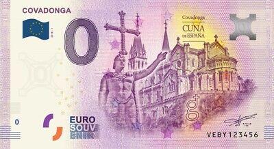 Billet Touristique 0 Euro - Covadonga - 2019-1