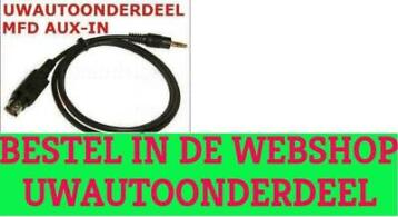 Vw MFD MFD1 Aux kabel Mp3 Vw Golf Bora Polo T4 T5 Sharan