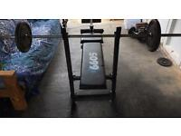 Amazing deal for Bench and barbell
