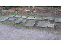 Natural - Pennant Flagstones - Paving Stones for Paths - Stepping Stones - Etc - Horfield