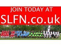 SUNDAY 11 ASIDE FOOTBALL IN LONDON, JOIN FOOTBALL TEAM. PLAY FOOTBALL. 202h