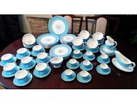 "Beautiful China Royal Dulton ,,Caprice"" 91 Pieces"