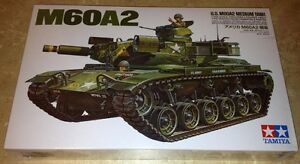 Tamiya 1/35 M60A2 Medium US Army Tank model kit new 89542