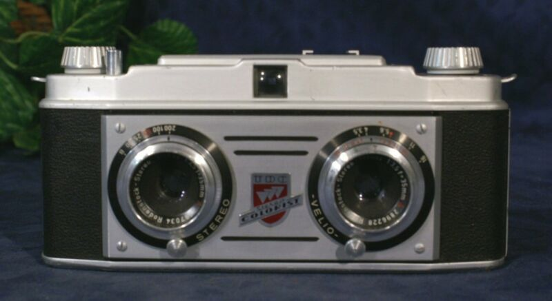 Nice TDC Stereo Colorist Three-Dimensional Camera 1950s