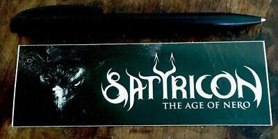 Satyricon - The Age Of Nero Aufkleber - Sticker - NEU ()