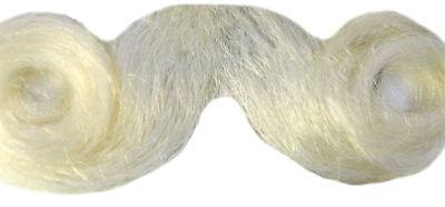 Morris Costumes Men's New Christmas Great Santa Claus White Mustache. LW574Y