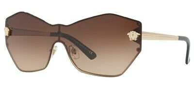 Versace Sunglasses VE2182 125213 Pale Gold / Brown Gradient Lens