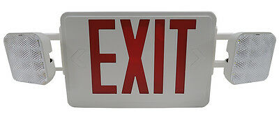 Led Exit Sign Wemergency With Led Lights  Us Seller