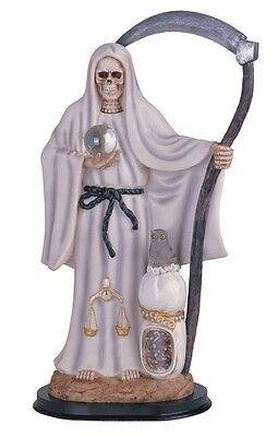 "16"" Inch La Santa Santisima Muerte Holy Death Grim Reaper Statue Figurine"