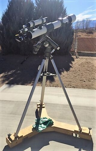 RARE Vintage Pentax 100 Refracting Telescope with all accessories JAPAN 1970