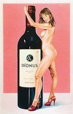 Mel Ramos - Dionus - 2002, Pop Art Grafik Lithografie, Luxus