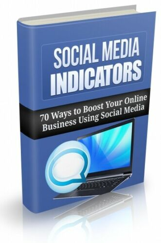 Social Media Indicators PDF eBook with Full resale rights!