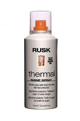 Shine Spray - RUSK Thermal Shine Spray w/ Pure Argan Oil 4.4 oz. New! Fast Free Shipping!