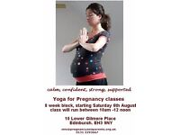 Yoga for Pregnancy - 8 week block - Starting TOMORROW!