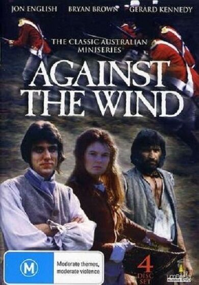 AGAINST THE WIND : THE COMPLETE MINISERIES DVD - UK Compatible - Sealed