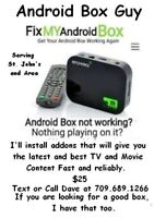 Android Box Guy - Reprogram, update your box