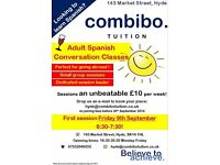 Adult Spanish Conversation Classes- Only £10 per session!