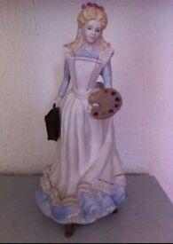 Coalport Little Women Figurine - Amy