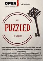 Puzzled - Sudbury's First Puzzle Room!!