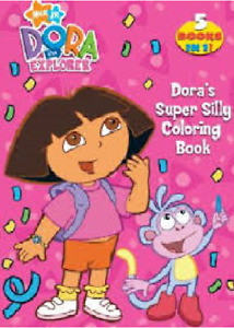 DORA Doras Super Silly Coloring Book