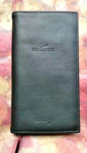 British Airways Concorde Notebook and Diary Folio
