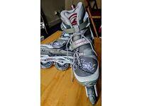 Rollerblade inline skates women size 8 UK