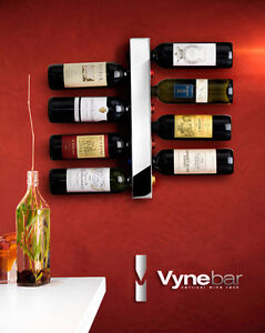 The Vynebar®  Vertical 8-Bottle Wine Rack