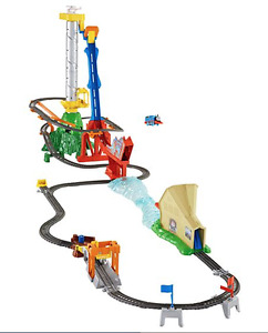 THOMAS & FRIENDS SKY-HIGH BRIDGE JUMP IS 'LIKE NEW' CONDITION!!