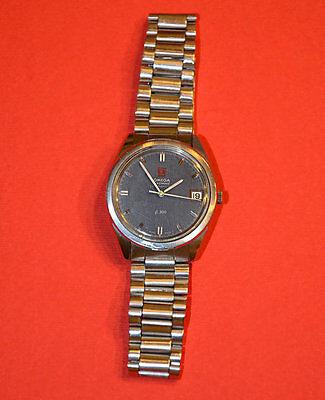 OMEGA 1970 CASSA acciaio steel WATCH Svizzera Suisse orologio elettronico uomo