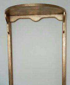 Single solid wood bedframe