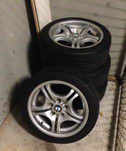 "BMW 3 SERIES 17"" RIMS & TYRES Clayton Monash Area Preview"