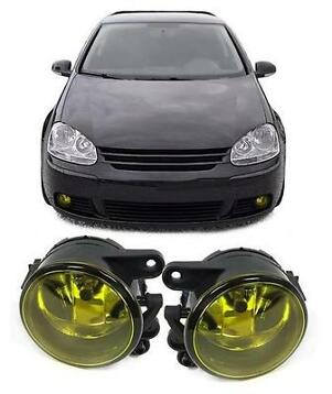 Mistlampen VW Golf 5 geel