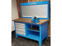 Unior 946ACR Workshop Work Bench, with optional Record no 23 Vice