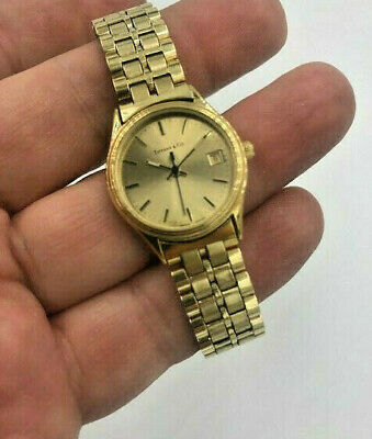 Tiffany & Co. Watch Portfolio Gold Electroplated  Women's Quartz (Tiffany Women)