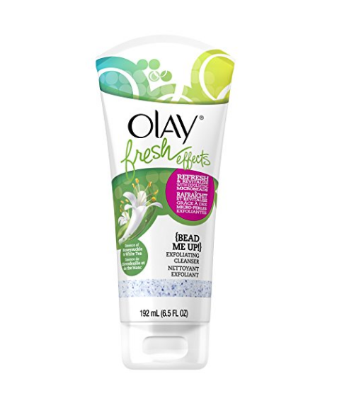 Olay Fresh Effects Bead Me Up Exfoliating Cleanser, 6.5 Flui