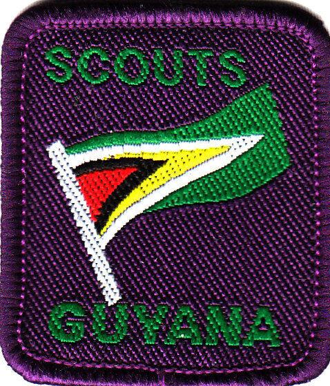 Boy Scout badge NATIONAL GUYANA