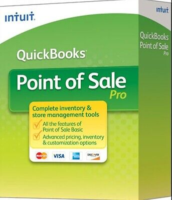 Quickbooks Point Of Sale Pro 12.0 Software  Digital Pc Download Delivery Only