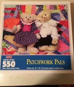 Patchwork Pals 550 Piece Puzzle