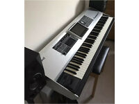 Roland Fantom G8 Digital Piano Synth Workstation + Flight Case. 512MB memory upgrade.