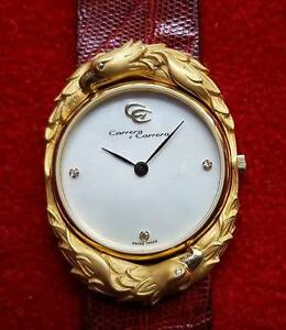 Carrera y Carrera 18ct gold ladies wristwatch Crows Nest North Sydney Area Preview