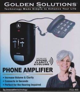 Golden Solutions Phone Amplifier by Innovative Technology Itgs-4