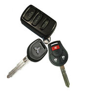 Car Keys Mitsubishi and Nissan