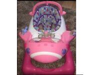 Mothercare Pink Aeroplane Walker