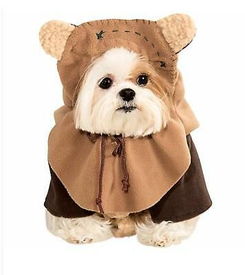 Star Wars ~ EWOK  ~ DOG Pet  Halloween Costume ~ S Small  M Medium  ~ NEW
