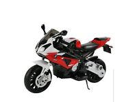 Ride-on 12v Electric BMW S1000rr Motorbike for Ages 3 to 8 Yrs