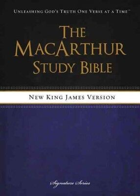MacArthur Study Bible : New King James Version, Hardcover by MacArthur,