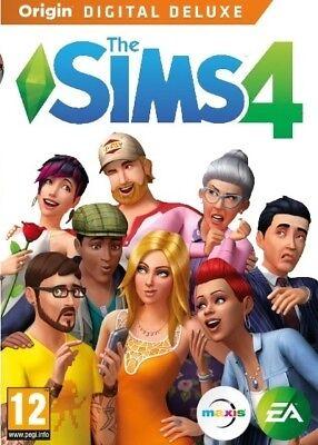 Sims 4 Digital Deluxe Origin Game   Pc    Downloadable