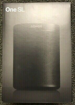 Sonos One SL Wireless Smart Speaker (Black)