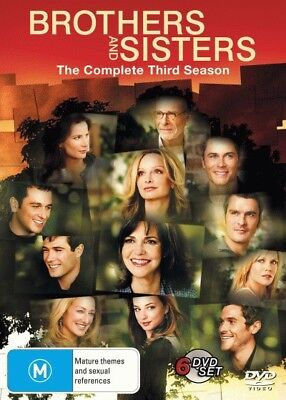 BROTHERS AND SISTERS: SEASON 3 = TV Series = NEW DVD R4